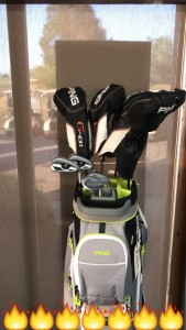 Ping g400 Drivers, irons and Glide wedges