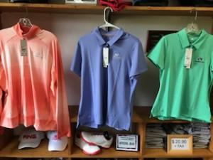 Adidas Ladies Polos, 1/4 zip and Shoes
